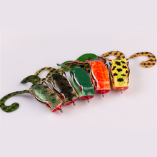 New Type Frog Bait Popper Lure 50mm/10g Wide Double Hook Floating Fishing
