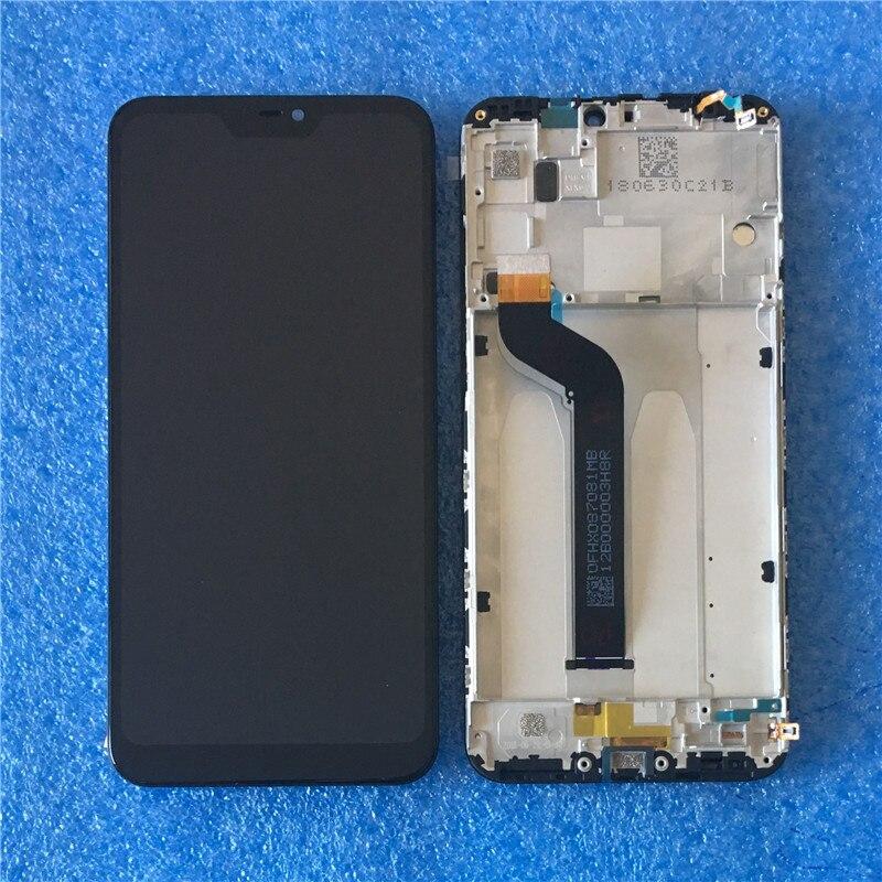 Original Pour Xiaomi Redmi 6 Pro Axisinternational écran lcd D'affichage Avec Cadre + numériseur à écran tactile Pour Xiaomi A2 Lite Affichage