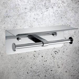 Image 4 - Suporte de papel higiênico duplo, suporte de papel higiênico para banheiro, restaurante, hotel, compras