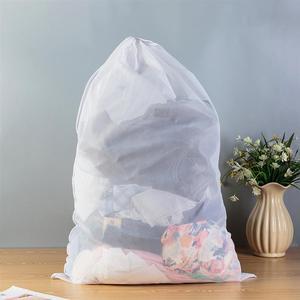 OUNONA, 2 шт., 60x90 см, сумка для стирки, Вязанная, вместительная, сетчатая, для стирки, сумка для стирки, для свитера, пальто, нижнее белье