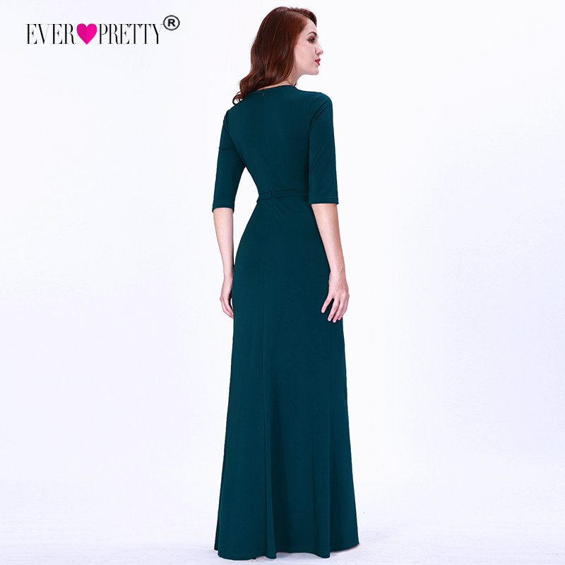 Plus Size Mother Of The Bride Dresses 2019 Elegant A Line V Neck Half Sleeve Wedding Party Gowns Long Special Occasions Dresses