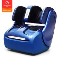 Electric Leg And Foot And knee Massager Infrared Heating Calf Massage Machine Air Pressure Air Compression shiatsu Massagem