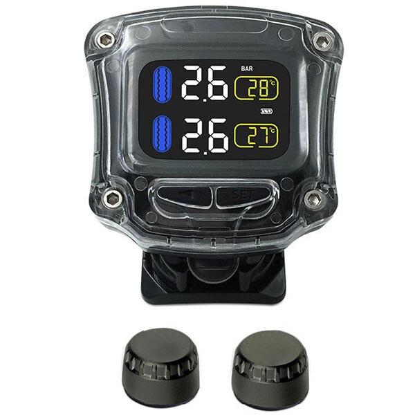 CAREUD M3 B WI H TPMS Wireless External Internal Sensor Set 2pcs Tyre Pressure Monitor System for Motorcycle Bicycle