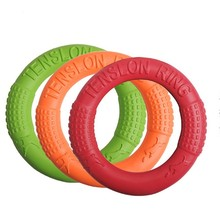 Dog EVA Flying Discs Pet Training Ring Interactive Toy Portable Outdoors Large Toys Products Motion Tool
