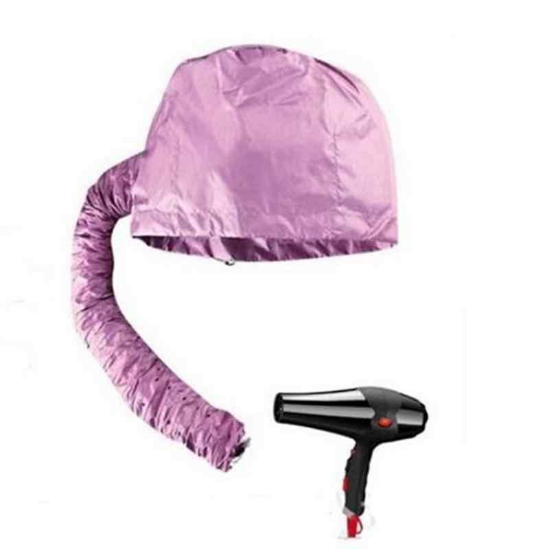 Praktis Rumah Salon Pemangkas Rambut Rambut Pengering Topi Tudung Penutup Kepala Panggang Minyak Cap Hat Hair Steamer Bonnet untuk Wanita Rambut perawatan Cap
