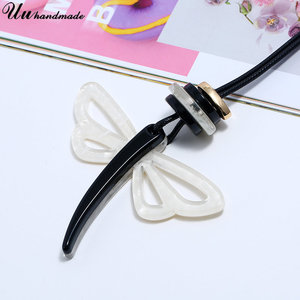 Image 3 - Erklärung retro acryl schmuck halsband halskette anhänger custom großhandel zubehör MOQ120 versand zeit ist über 25 tage