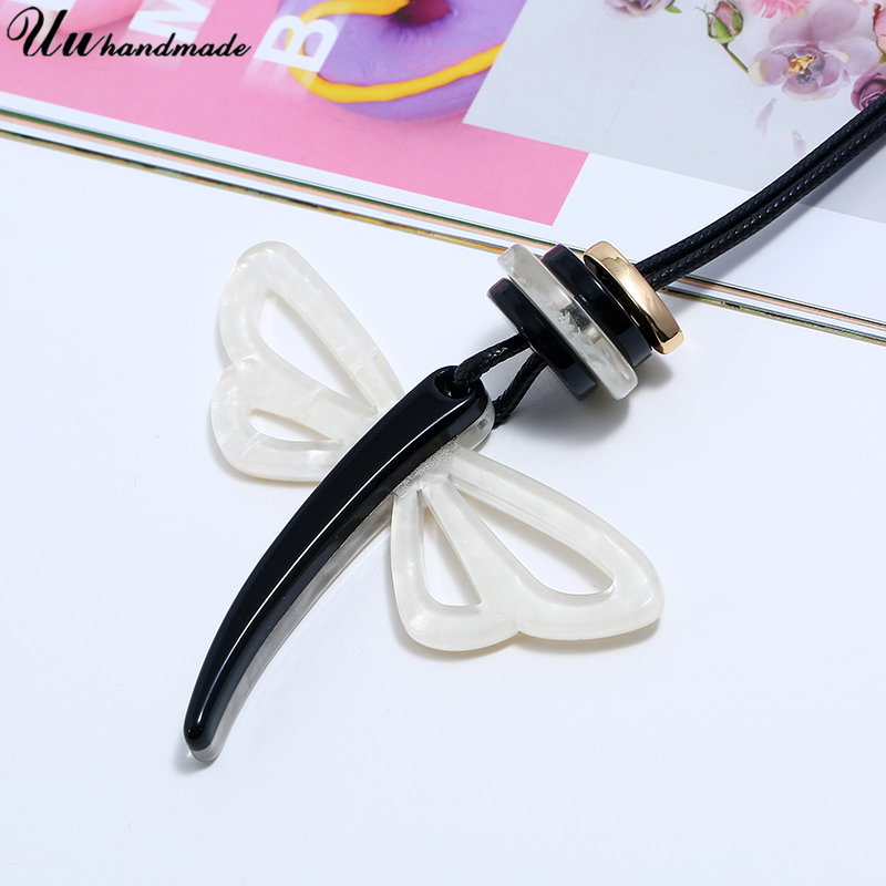 Image 3 - Statement retro acrylic jewelry choker necklace pendant custom wholesale accessories MOQ120 shipment time is about 25 days-in Pendant Necklaces from Jewelry & Accessories