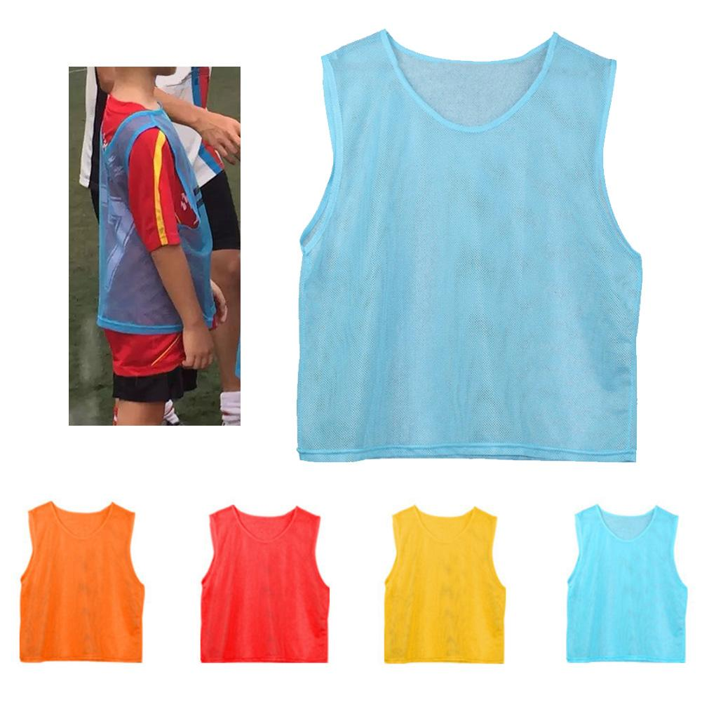 Kinderen Volwassenen Ademend Voetbal Basketbal Sport Training Vest Mesh Jersey Goed Voor Energie En De Milt