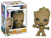 PoP Action & Toy Figures Guardians of the Galaxy Groot/Rocket/Star Lord Action Figure PVC Model Dolls for Children, Best Gift