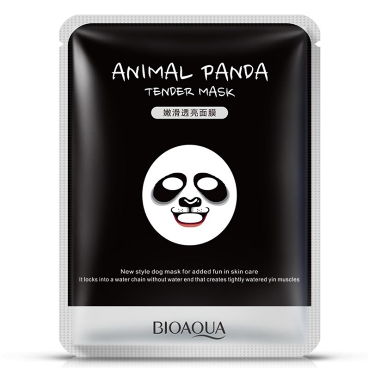 Брендовая маска для лица, одноразовая увлажняющая натуральная маска для лица, сыворотка для домашнего удовольствия, животных, персонажей п...