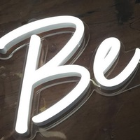 wholesale exw price led colorful flexible neon sign letters for shop decoration