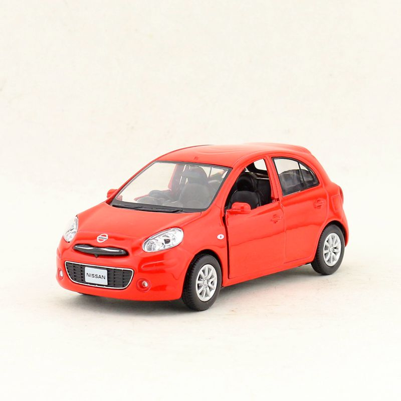 Free Shipping/RMZ City Toy/Diecast Model/1:28 Scale/Nissan March Micra/Pull Back Car/Educational Collection/Gift/Children
