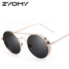 UV400 Oculos De Sol Driving Glasses Goggle Eyewear Accessories Unisex Sunglasses Brand Designer Round Gafas