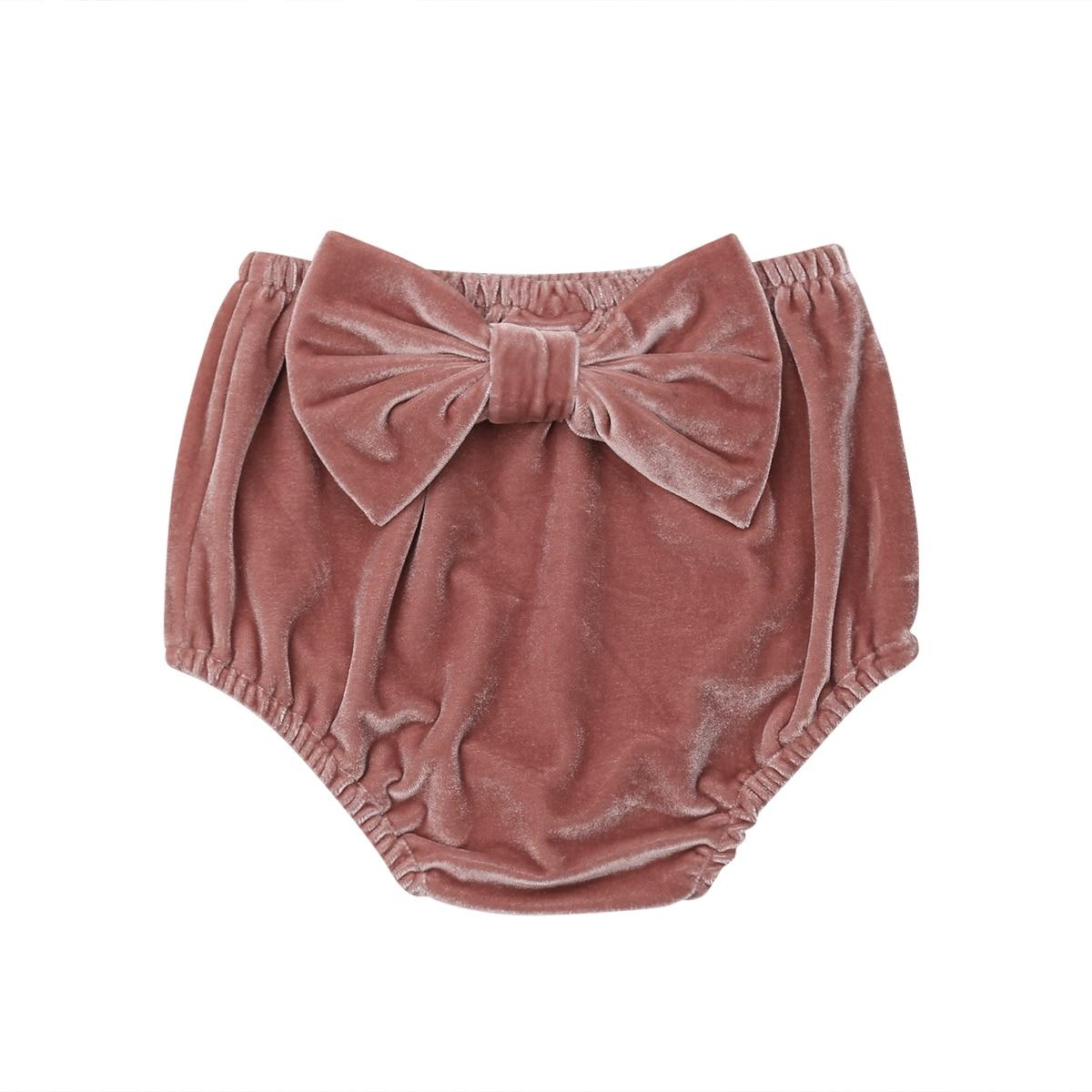 Brand New Cute Toddler Infant Baby Girl Velvet Rabbit Tail PP   Shorts   Bottoms Bloomer