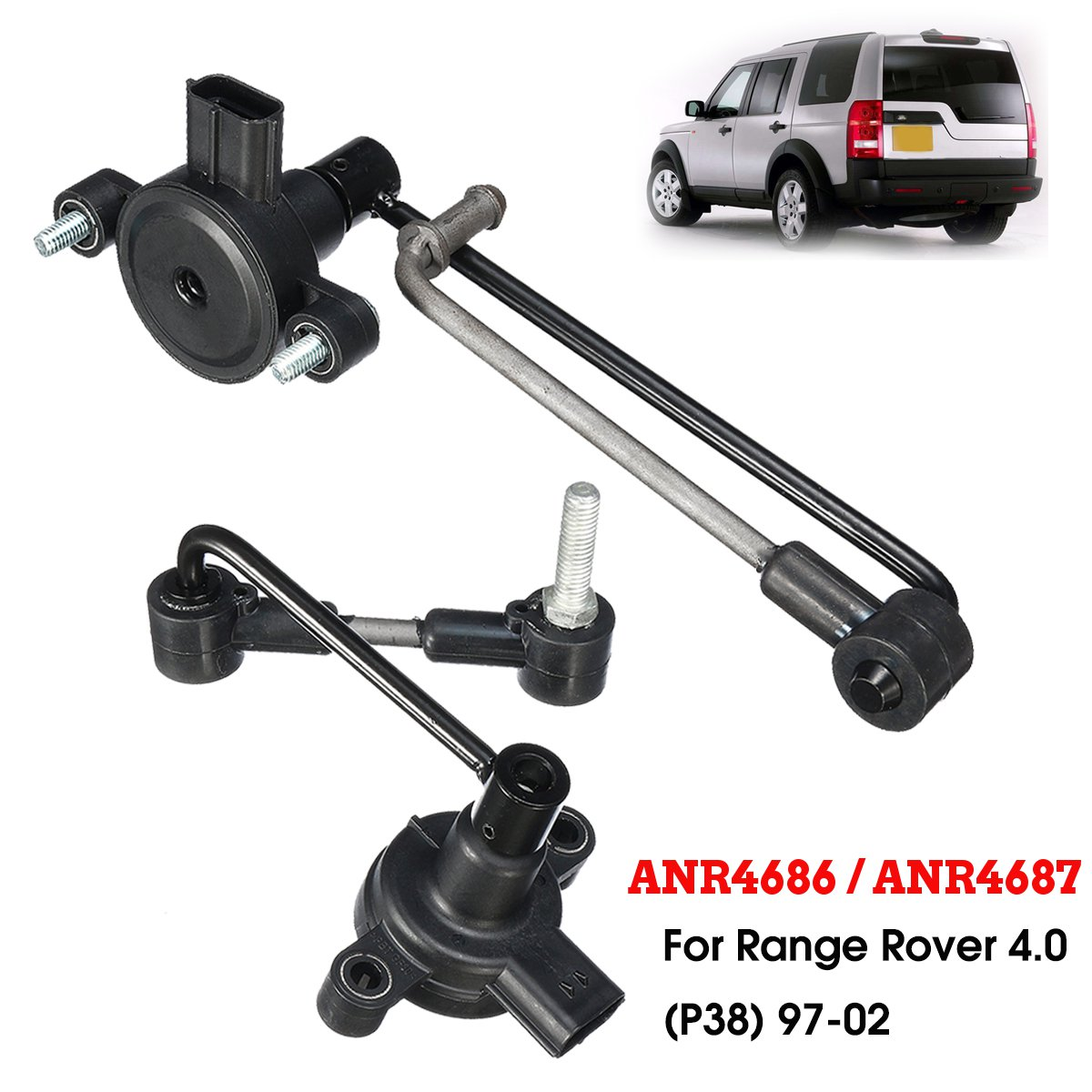 Ride Height Level Sensor ANR4686 ANR4687 For Land Rover Range Rover P38 1997 2002 2 5L