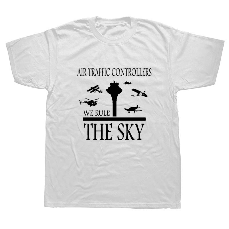 New Arrival Brand-Clothing Air Traffic Controller Funny Job T Shirt The Plane Controller T-shirt Men