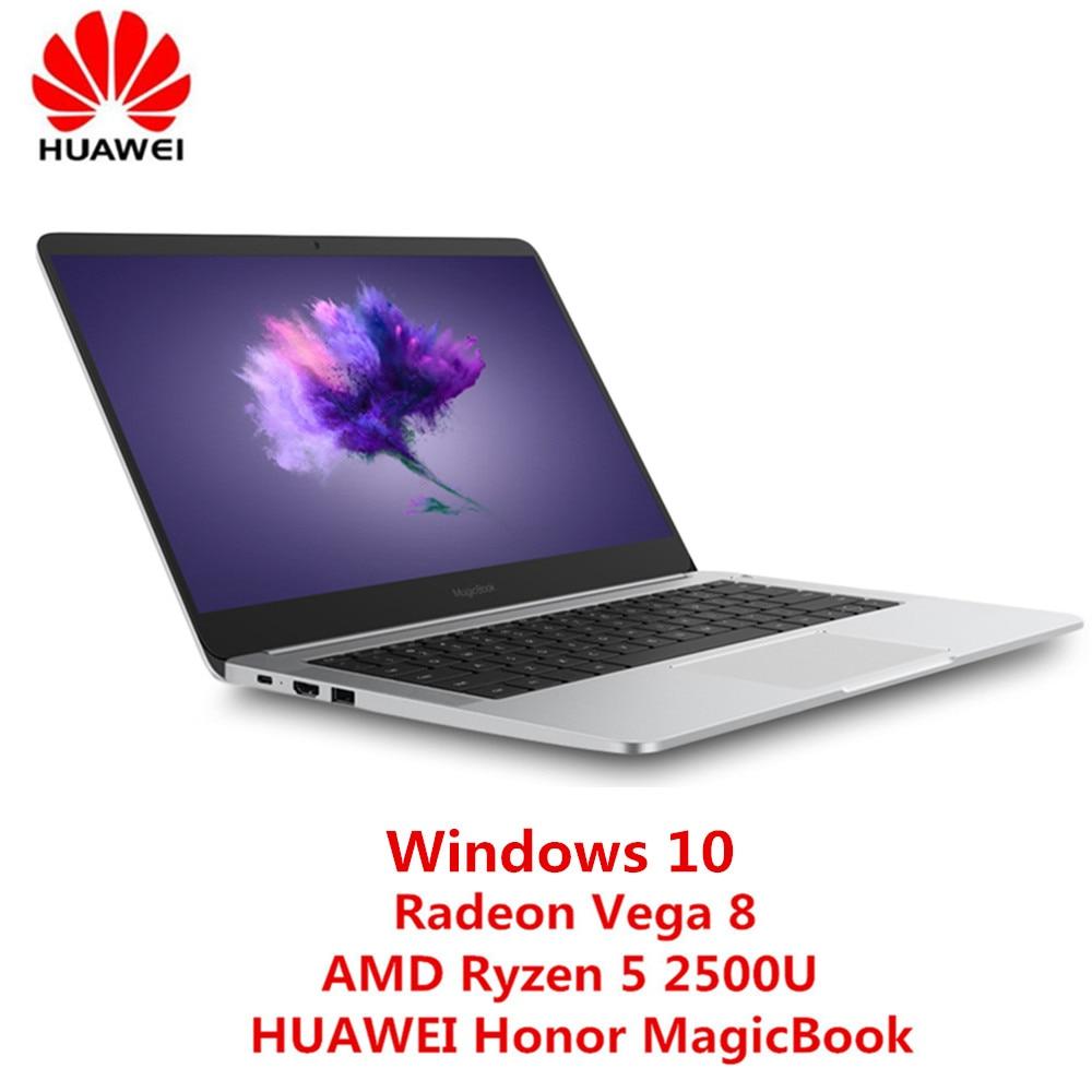 HUAWEI Honor MagicBook KPL W00E Notebook 14 Windows 10 OS AMD Ryzen 5 2500U Radeon Vega 8 2.0GHz,Quad Core 8GB 256gb Laptop