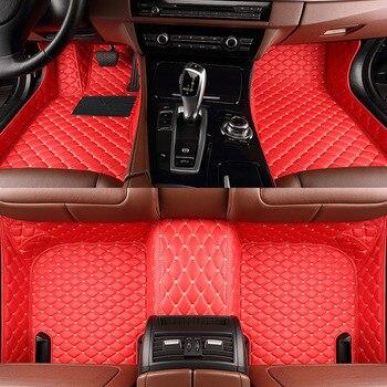 Fußmatten Auto | ZHAOYANHUA Custom Car Fußmatten Für KIA Kia Sportage Ql Optima K5 Rio 4 X-linie Sorento Niro Seele Ceed Tyling Teppich Boden