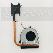 Новый оригинальный ноутбук радиатор охлаждения Вентилятор cpu кулер для hp 15-G 15-h 15-R 15Z-G000 250 G3 255 G3 15-G000 753895-001 753894-001 аккумулятор большой емкости