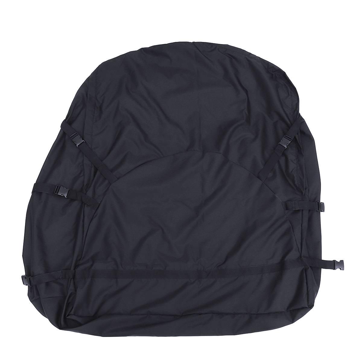 130X100X45 cm sac de toit de voiture sac de toit supérieur porte-bagages transporteur de bagages voyage étanche Touring SUV Van pour les voitures - 6