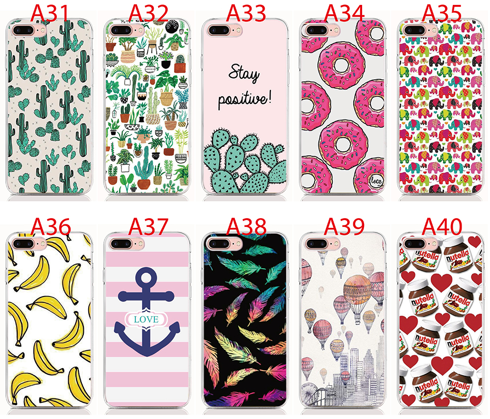For Blackberry Q30 Q20 Q10 Q5 Z30 case Print pattern Hard PC Animal Cat Cactus Back Cover Phone Cases(China)