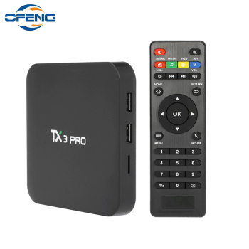 TX3 PRO Android 7.1 TV Box Amlogic S905W quad core TV BOX 4K BOX Smart Media Player 1GB/8GB 2.4G Wifi set-top box pk x96 mini