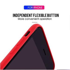 Image 5 - Lüks yumuşak silikon kılıf iPhone 7 için 8 artı 6 6s x xs max xr 11 Pro darbeye dayanıklı durumda TPU silikon arka kapak koruyucu kılıf