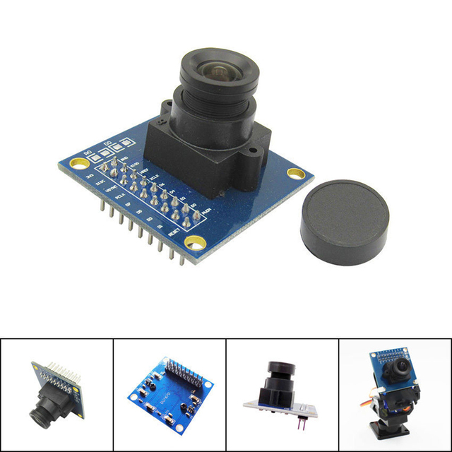 New For VGA OV7670 CMOS Camera Module Lens For Arduino Module CMOS 640X480 SCCB W/ I2C Interface