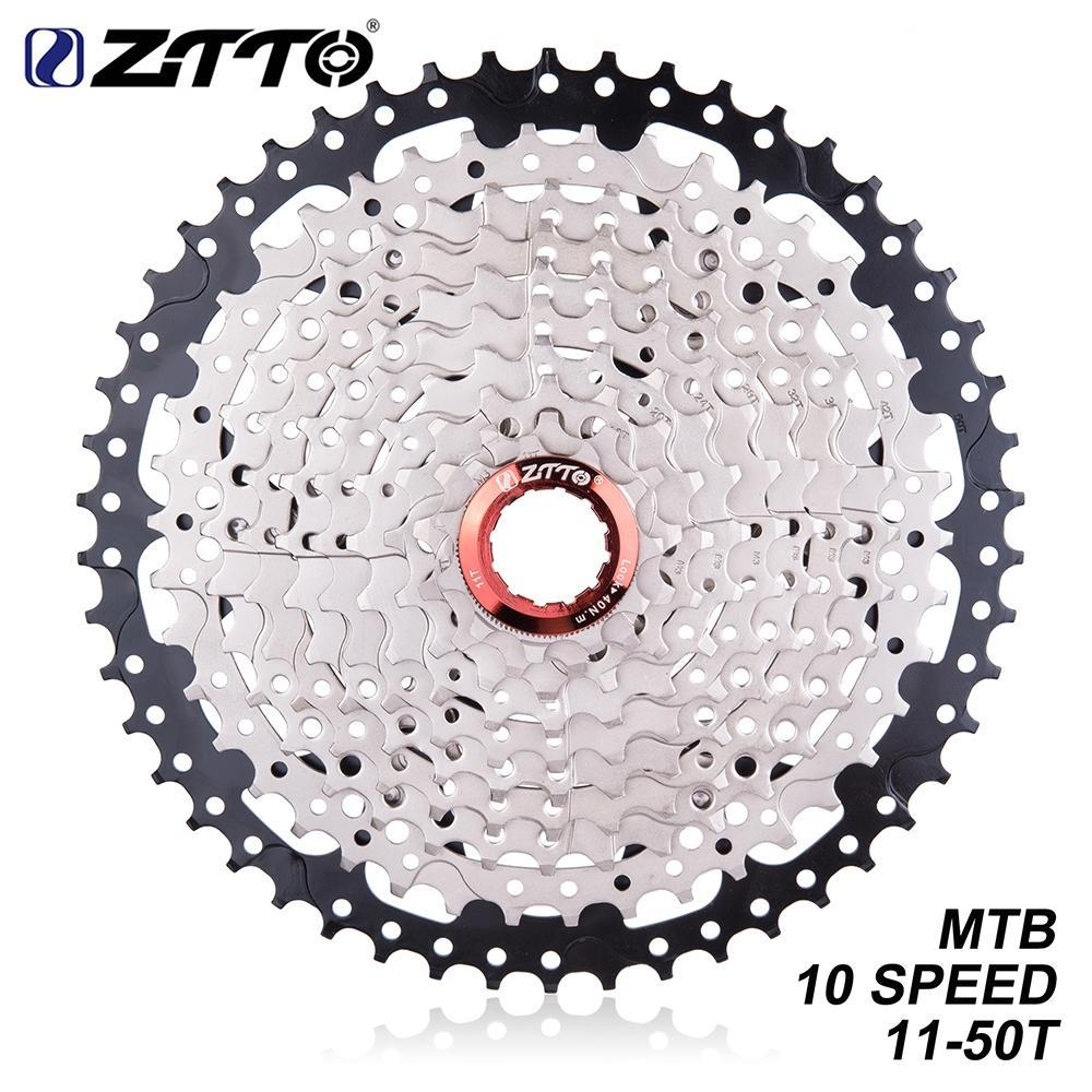 ZTTO 10 Speed 11-50T MTB Mountain Bike 10s 20s  30s Cassette Freewheel For K7/Parts XT SLX XO X0 X9 X7 Bicycle PartsZTTO 10 Speed 11-50T MTB Mountain Bike 10s 20s  30s Cassette Freewheel For K7/Parts XT SLX XO X0 X9 X7 Bicycle Parts