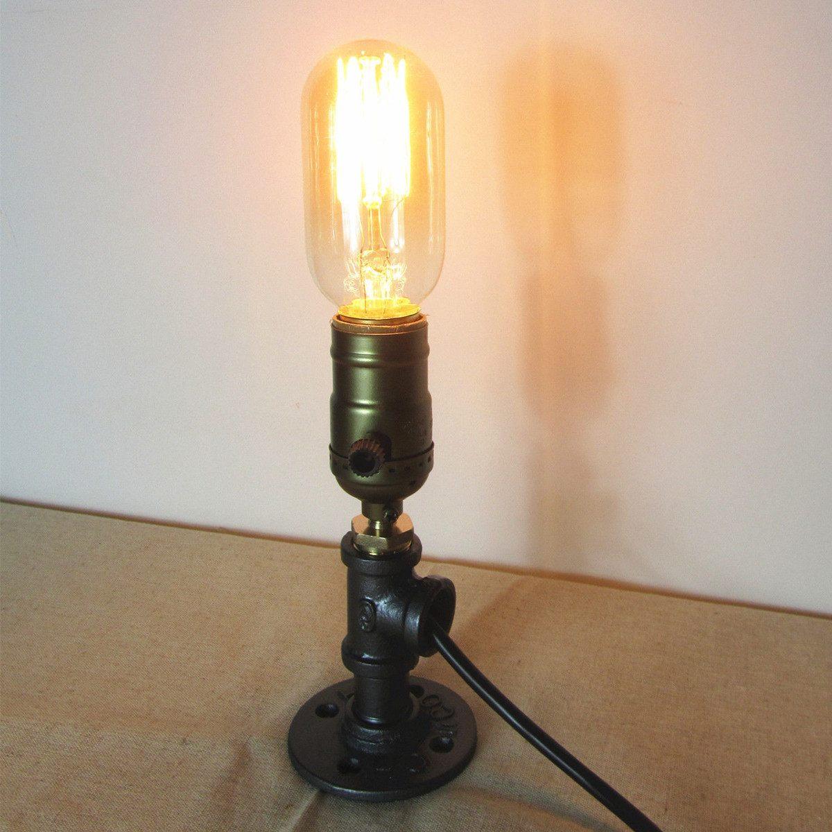 Table Bedside Desk Lamp Holder Reading Coffee Shop Lamp