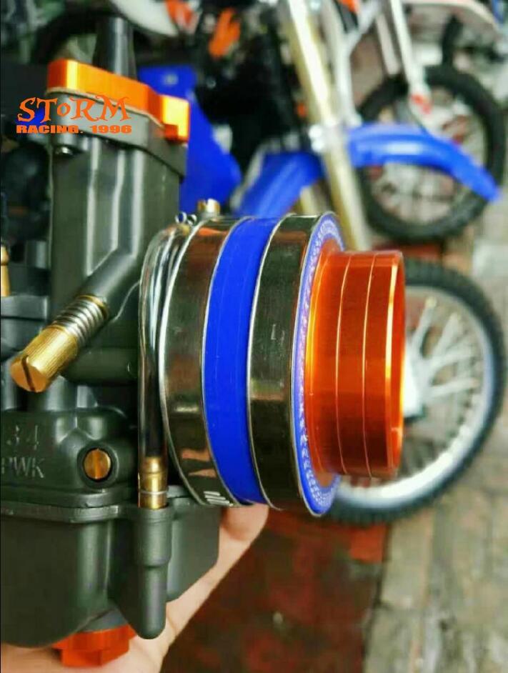 Мотоциклетный воздушный фильтр, соединение для карбюратора ZONGSHEN, двигателя NC250 NC KAYO T6 BSE J5 RX3, 4 детали клапанов PKW34 ZS177MM