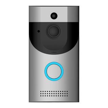 Wireless Intercom Doorbell Camera PIR Full Duplex WiFi Wireless Remote Phone Level 170 Degrees Video Intercom Doorbell Camera