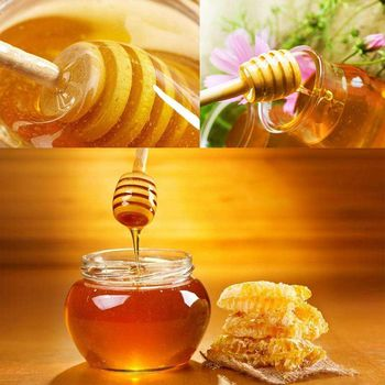 100 Pack Von Mini 3 Zoll Holz Honig Löffel Sticks, Einzeln verpackt, server Für Honig Glas Dispense Drizzle Honig, Hochzeit P