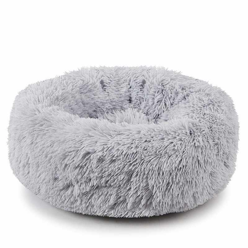 Miraculous Round Dog Bed Winter Warm Washable Cats House Breathable Lounger Sofa For Small Medium Dogs Super Soft Plush Pet Bed Hb Squirreltailoven Fun Painted Chair Ideas Images Squirreltailovenorg