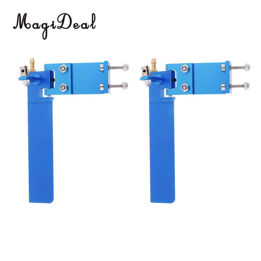 95mm Alloy RC Boat Water Rudder Absorbing Steering Rudder for RC Boats CNC A