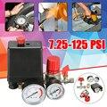 Реле давления клапан регулятор манометра для воздушного компрессора 7 25-174 PSI Новый Регулируемый переключатель давления для воздушного комп...
