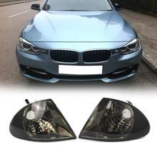 VODOOL 2 шт. прозрачные линзы автомобиля спереди сигнальные лампы индикатора сбоку угол света кадр без лампы для BMW 3 серии E46 седан 325i