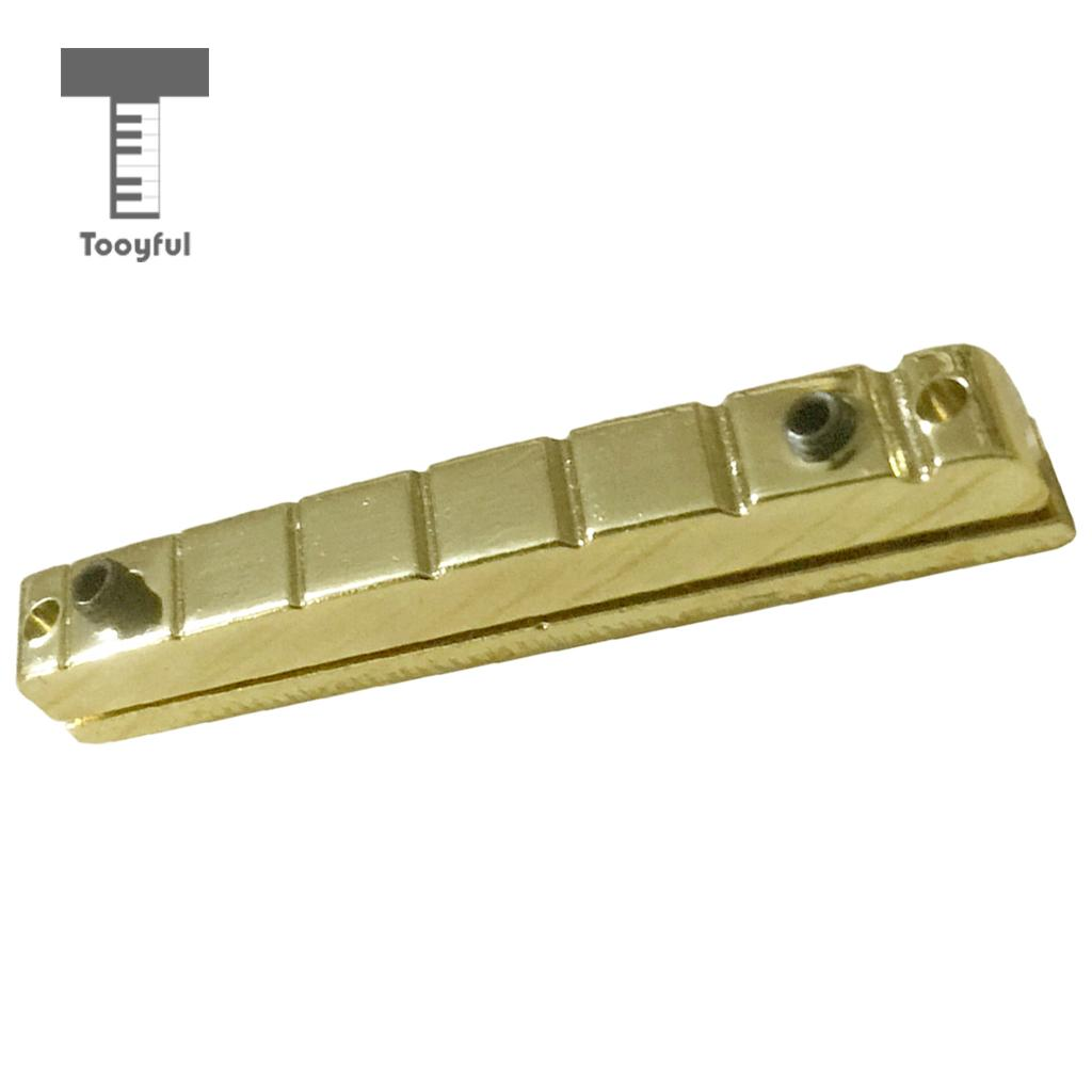 tooyful guitar brass adjustable height 7 strings slotted nut for guitar accessory in guitar. Black Bedroom Furniture Sets. Home Design Ideas