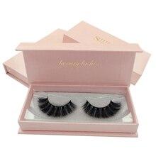 SHIDISHANGPIN 1 box makeup false eyelashes 3d mink full strip lashes Pair natural long eyelash extension