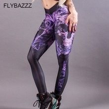 Women Sports Leggings Yoga Pants Workout Fitness Jogging Running Clothing For Tights Stretch Printed Sportswear