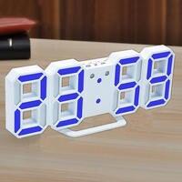 Relógio LEVOU Despertador Relógio De Repetição do Alarme Eletrônico de Carga USB Digital Clocks Home Living Room Decoration