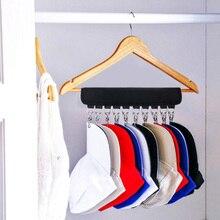 Кепка стойка шкаф вешалка для хранения 10 кепок s Органайзер дверь бейсбольная шляпа держатель
