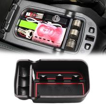 Car Center Console Armrest Secondary Storage Box With Non-slip Mat For 2017-2019 Jeep Renegade New 2019