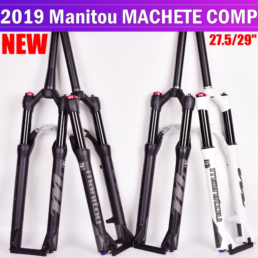 <font><b>Bicycle</b></font> <font><b>Fork</b></font> Manitou Machete Comp Marvel <font><b>27.5</b></font> 29er size air <font><b>Forks</b></font> Mountain MTB Bike <font><b>Fork</b></font> suspension Oil and Gas <font><b>Fork</b></font> SR SUNTOUR image
