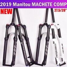 Велосипед вилка Manitou мачете Comp Marvel 27,5 29er Размер air вилки Mountain Велосипедная вилка mtb масло для подвески и газа вилка SR SUNTOUR
