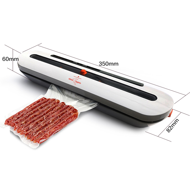 Electric Vacuum Sealer Packaging Machine For Home Kitchen Including 10pcs Food Saver Bags Commercial Vacuum Food Sealing 6