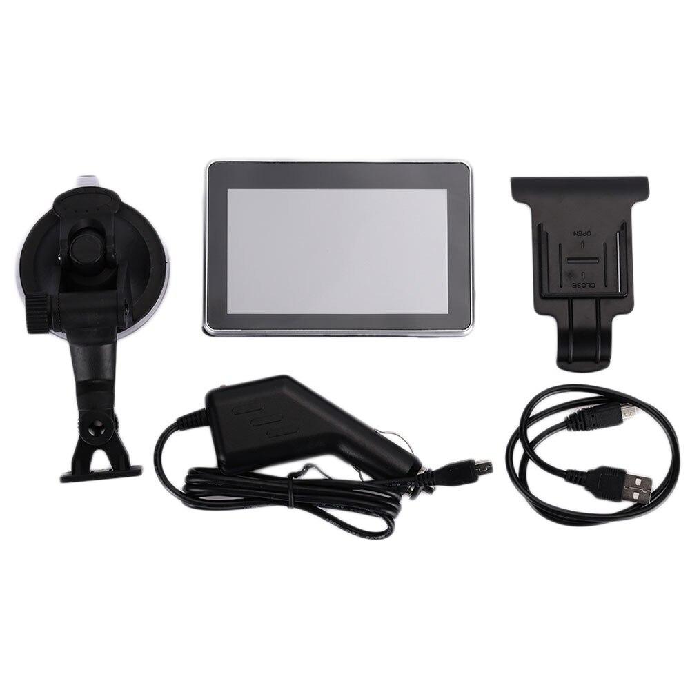 Система навигации транспортного средства gps навигатор Универсальный Автомобильный навигатор датчики карта 8 ГБ 4,3 дюймов многофункциональный FM передача портативный