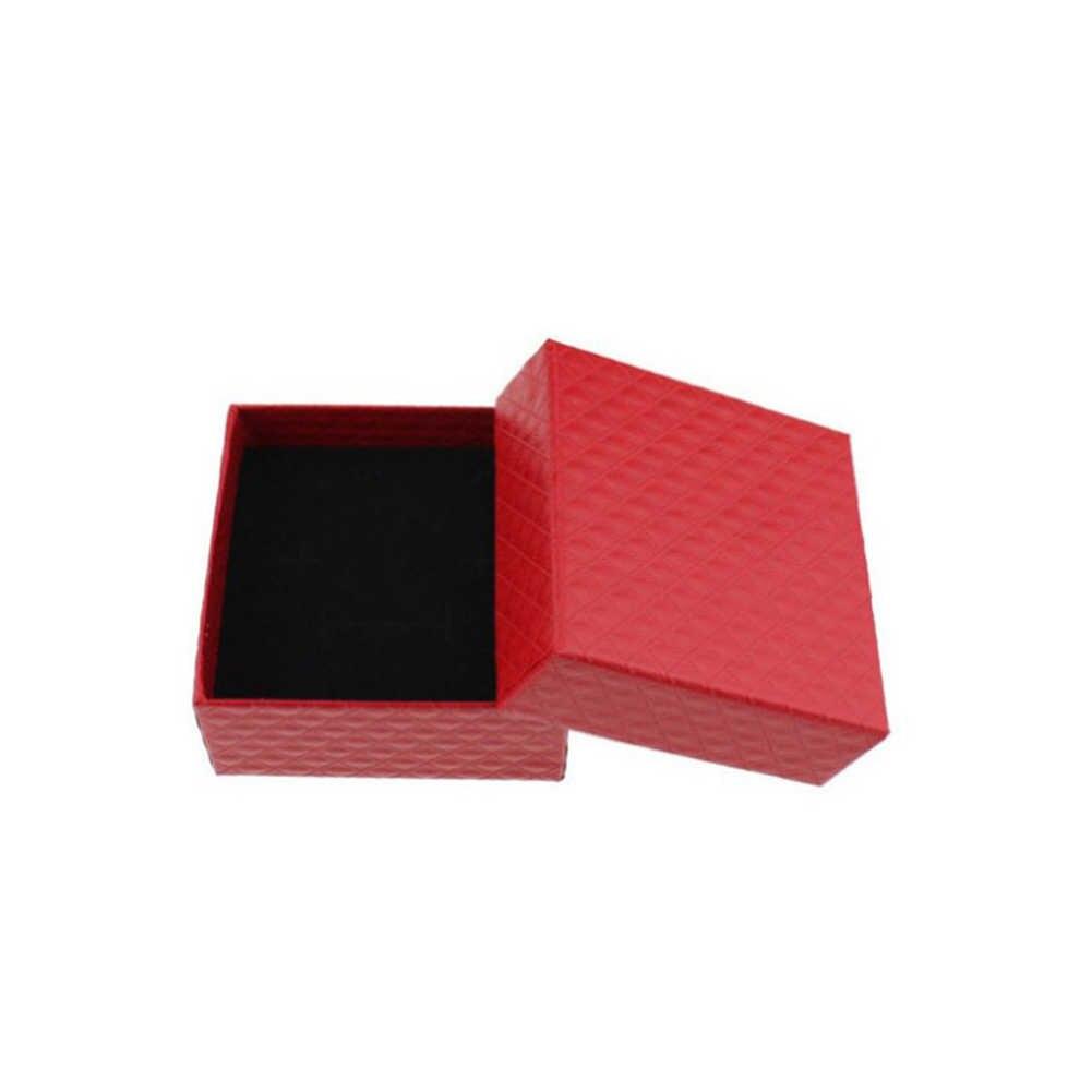 2019 anillo de moda collar pendiente pulsera bolsa de papel boda fecha joyería caja de regalo