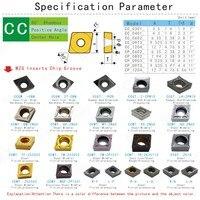 כלי קרביד מחרטה CCMT060202-HQ 10pcs MOSASK ZN60 חיתוך עיבוד כלי CNC מחרטה פלדה מפנה שניתן ליצור להם אינדקס טונגסטן ביצרו קרביד והתוספות (4)