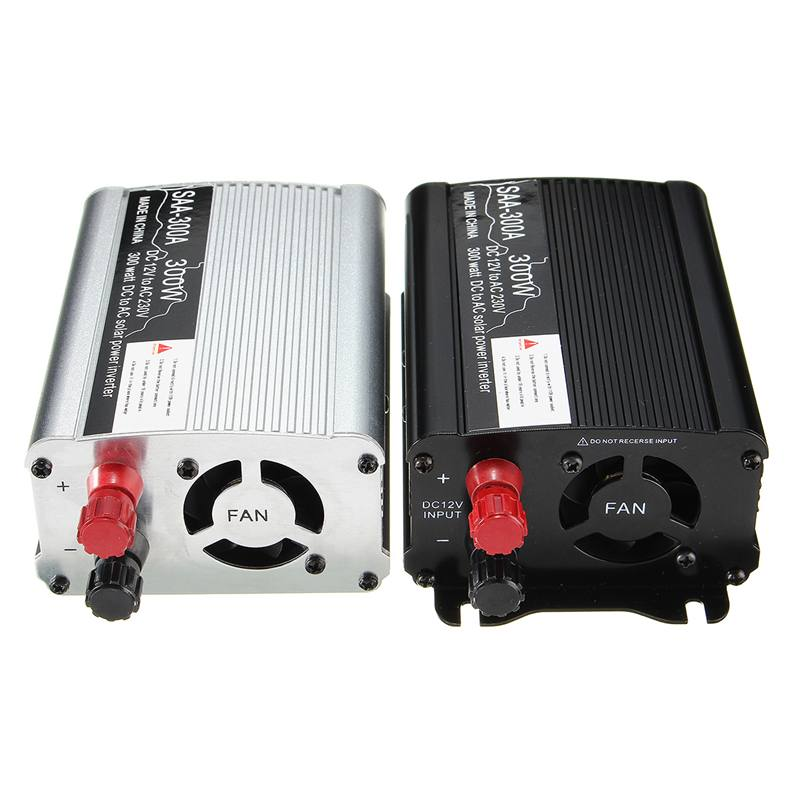 300W Power Inverter 12 V to AC 220 Volt USB Modified Sine Wave LCD Digital Car Charge Converter Transformer